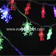 Led Solar PoweredSnow String Outdoor Holiday Christmas Party Decoration Night Light