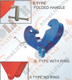 BEAM CLAMP - Q TYPE A TYPE B TYPE