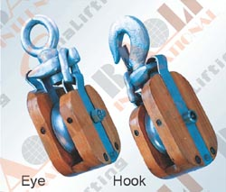 WOODEN SNATCH BLOCK