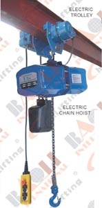 ELECTRIC CHAIN HOIST- H TYPE 05484 05485 05486 05487 05488