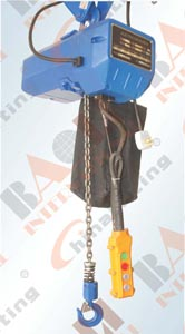ELECTRIC CHAIN HOIST - T TYPE 05509 05510 05511 05521 05522 05523 05524 05525 05526 05527 05528