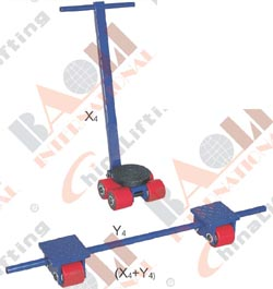 MACHINE TROLLEY (HEAVY DUTY) 03447 03448