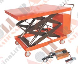 ELECTRIC TWO SCISSORS LIFT TABLE