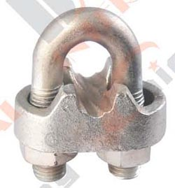 AUSTRALIAN TYPE HOT DIPPED MALLEABLE WIRE ROPE CLIPS AS2076 22558 22559 22560 22561 22562 22563