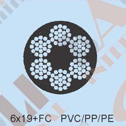 PVC/PP/PE COATED CABLES 19548 19549