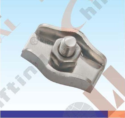 S.S. SIMPEX WIRE ROPE CLIP AISI :304 or 316