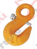 G80 EYE GRAB HOOK WITH BOLT AND COTTER PIN