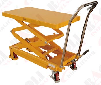 HAND-HYDRAULIC TABLE TRUCK