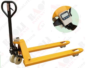 PALLET TRUCK WITH SCALE DJ MODEL