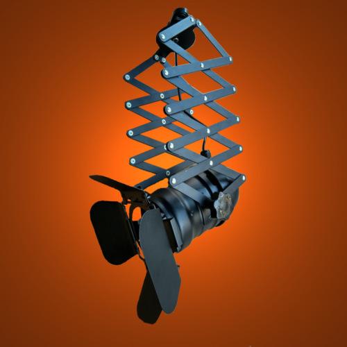 euroliteLED Telescopic Loft Industrial Iron Spotlight Vintage Ceiling Lights LED Shop Light Track Light