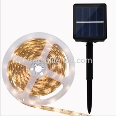 Led Solar Powered Warm White Waterproof Decoration Anit-UV Dropping Glue Soft Night Light