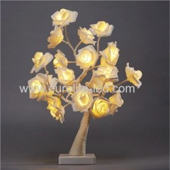 Led Rose Tree USB Battery Dual Purpose Romantic Holiday Room Party Decoation Night Light Monther's Day