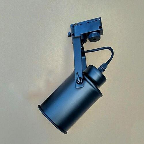 euroliteLED Single Head Ceiling Track Light Industrial Retro Spotlight Adjustable Lamp Head LED Light Fixture
