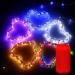 Led Outdoor Waterproof Salt Water Power Generation String Cylinder Box 10 M Spherical 100leds Decoration Night Light