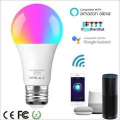 euroliteLED 10W LED WiFi Smart Multicolor RGBW Bulbs