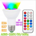 euroliteLED 8W PAR20 LED WiFi Smart Multicolor RGBW Bulbs
