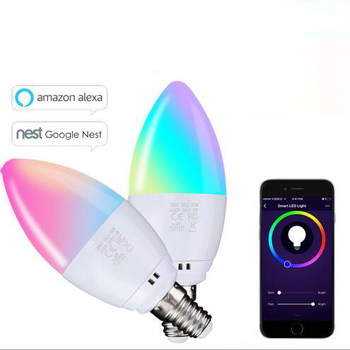 euroliteLED 5W Smart LED Light Multicolor RGBW Dimmable LED Bulb