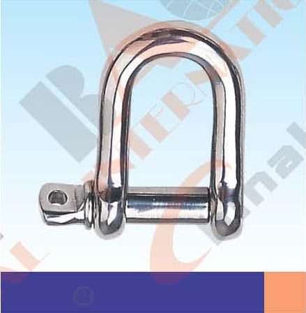 S.S. SCREW PIN CHAIN SHACKLE U. S TYPE AISI:304 or 316 21107S 21108S 21109S