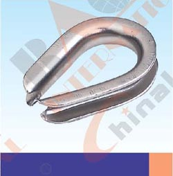 S.S. G414 EXTRA HEAVY DUTY WIRE ROPE THIMBLE U. S TYPE AISI:304 or 316 23309S 23310S