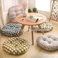 Round Shape 2 Size Seat chair Sofa Cushion Silk Cotton Core Cotton Polyester Tatami Cushion Pillow Home Decoration