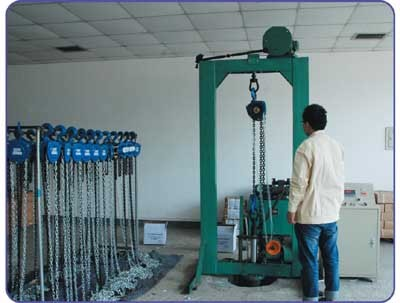 FATIGUE TESTING MACHINE OF HOIST USED FOR PROOF, BREAKING,FATIGUE FOR HAND HOIST