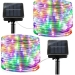 Led Solar Powered String Waterproof 8 Modes 5M 50LEDS Decoration Holiday Party Night Light