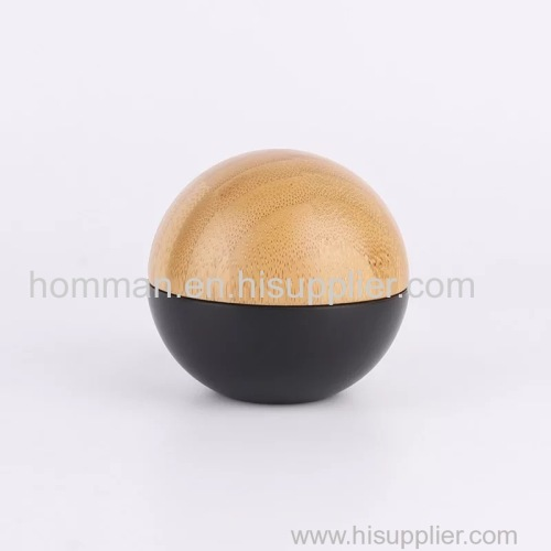 Ball Bamboo Cap PP Cream Jar