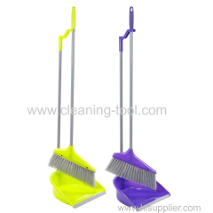Upright Long Handle Dustpan And Broom Set