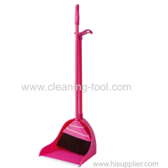 Long Handle Upright Dustpan and Broom Set
