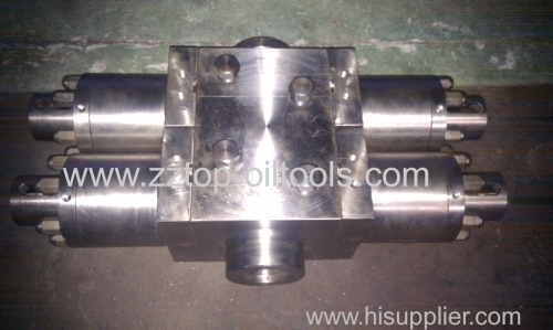 API 16A Polish Rod Blowout Preventer Single RAM Manual BOP