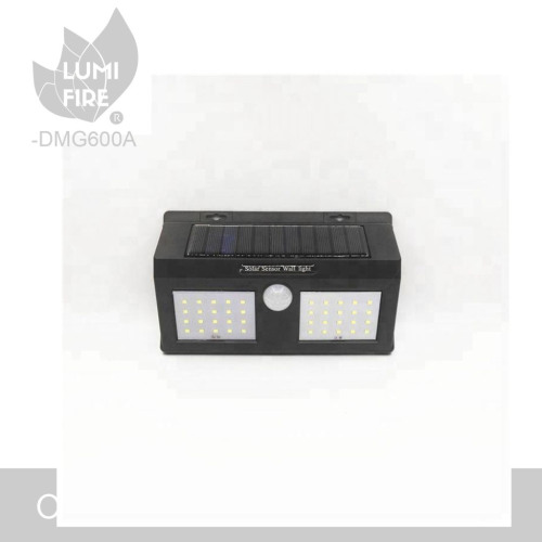 Outdoor Waterproof Rechargeable Solar Power Motion Sensor Wall Light