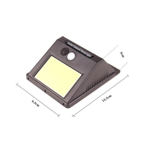 Outdoor Solar Powered Lights Motion Sensor Wall Light for Garden