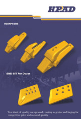 Caterpillar J400 Model bucket adapter