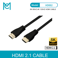 MC 8K 48Gbps 2.1 HDMI Cables 4K HDMI 2.1 Cable eARC Cabo HDMI 2.1 UHD Dynamic HDR HDMI 2.1 Cable for 8K Samsung QLED TV