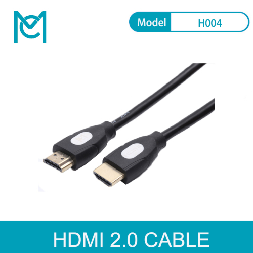 MC 1080P 3D Effect HDMI to HDMI Cable High Speed Adapter With Gold Plated Plug For Camera Monitor Projector Laptop