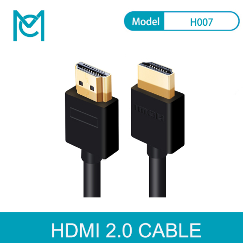 MC Speed HDMI Cable HDMI to HDMI 2.0 4K 1080P 3D for HDTV splitter switcher 0.5m 1m 1.5m 2m 3m 5m