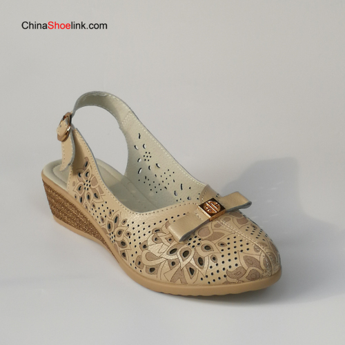 Wholesale Lady Handmade Leather Sandals Shoes