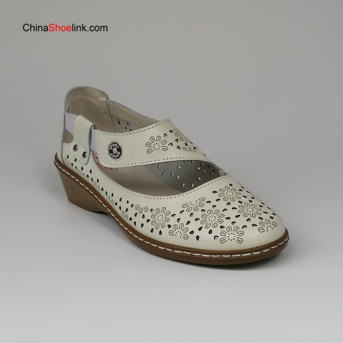 Wholesale High Quality Ladies Leather Sandals Shoes