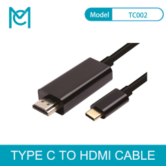 MC USB C to HDMI 4K Cable adapter Type C HDMI Thunderbolt 3 for huawei mate 20 macBook pro 2018 pro galaxy S9 HDMI USB-C