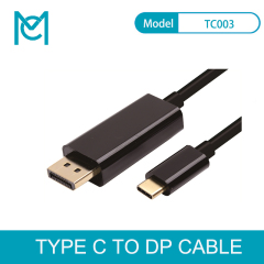 MC USB C to DisplayPort Cable (4K@60Hz)USB 3.1 Type C (Thunderbolt 3 Compatible) to DP Cable for MacBook 2017 Galaxy S9