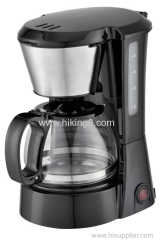 DCoffee Maker With Thermos Glass Carafe Clear Water Level Indicator and One Touch Button