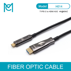 MC Long Fiber Optic HDMI Cable 2.0 4K 60hz HDMI Male to HDMI Male Cable HDR for PS4 HD TV Box Projector