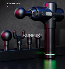 New vibration electric deep muscle massage gun body massager Therapy Fascia Massage gun