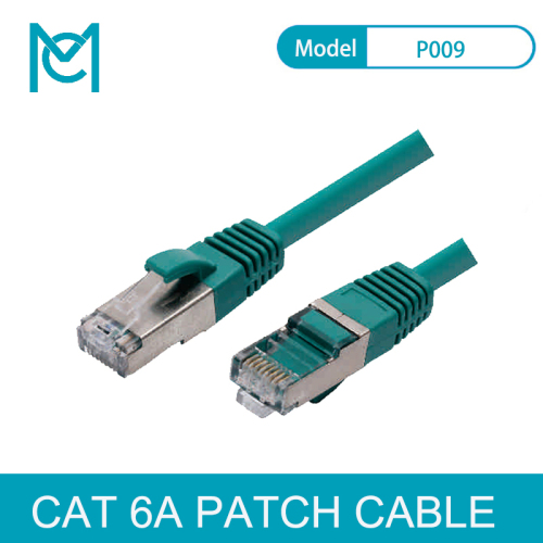 MC CAT6A Ethernet Cable SSTP RJ45 Lan Network Cable 10Gigabit High Speed 500MHz Cat 6A Patch Cord for Modem Router Cable
