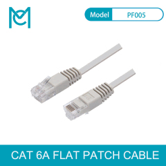 MC High Speed CAT 6A Flat 8pin full copper Ethernet Network Cable RJ45 Patch LAN Cord 1-20m for PC Laptop Router