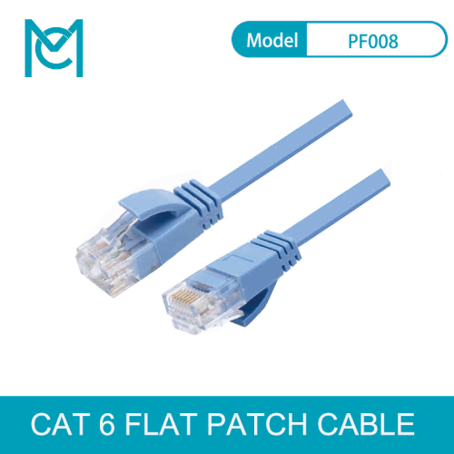 MC 30AWG UTP Soft Flat Patch Cable