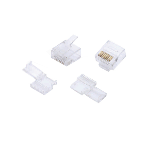 MC CAT 6 Modular RJ45 Plug 8P8C Short Body Unshielded For AWG 24-26