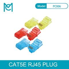 MC CAT 5E Modular RJ45 Plug 8P8C Unshielded For AWG 24-26