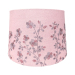D245MM EMBROIDER PINK LAMP SHADE