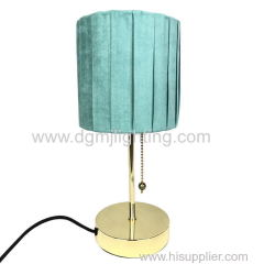 D150MM GREEN TWIST TABLE LAMP